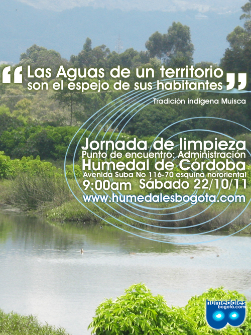Jornada Limpieza Humedal de Córdoba