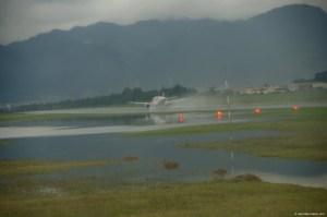 Inundación pistas del Aeropuerto El Dorado